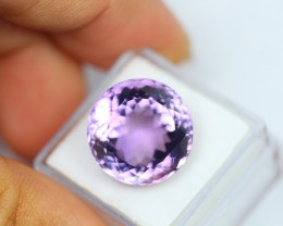 15.86Ct Natural Amethyst Round Cut Lot V105