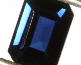 1.37 CTS CERTIFIED  BLUE SAPPHIRE -MADAGASCAR[SM715]SA