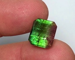 10.20 cts WATERMELON TOURMALINE - VIVID COLORS - JEWELRY QUALITY