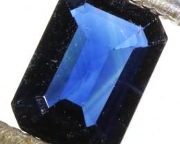 0.82 CTS CERTIFIED UNHEATED  BLUE SAPPHIRE -MADAGASCAR[SM176]SA