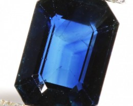 1.43 CTS CERTIFIED UNHEATED  BLUE SAPPHIRE -MADAGASCAR[SM177]SA