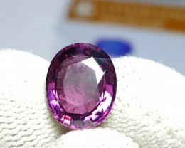 UNTREATED VVS 3.79 CTS NATURAL BEAUTIFUL OVAL MIX PINK SPINEL