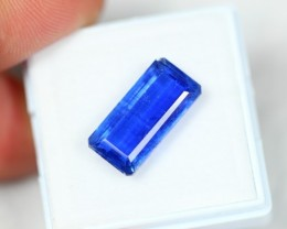 NR Lot 01 ~ 7.28Ct Natural VS Clarity Vivid Blue Color Kyanite