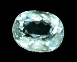 5.90 cts Untreated Rare Clear Pollucite Gemstone from Kunar