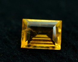 0.40 ct Extremely Rare Full Fire Orange Clinohumite