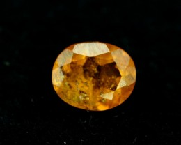0.60 ct Extremely Rare Full Fire Orange Clinohumite