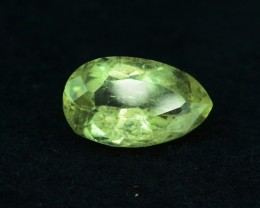 4.85 cts FLAWLESS Yellow Beryl - HELIODOR