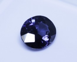 Because of cobalt content the stone changes to a more violet blue inside and a cobalt blue outside.