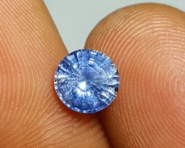NO HEAT CERTIFIED 1.30 CTS NATURAL BEAUTIFUL ROUND MIX LIGHT BLUE SAPPHIRE