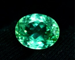 14.0 ct Green Spodumene Gemstone From Afghanistan (R)