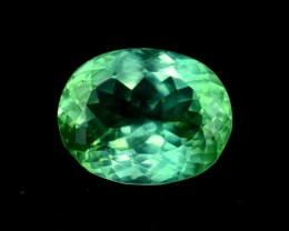 12.85 ct Green Spodumene Gemstone From Afghanistan (S)
