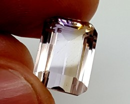 BEAUTIFUL BI COLOUR AMETRINE 7.60 Cts   Gemstone   Jl151