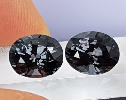 4.56cts  Spinel Pair,  100% Untreated,