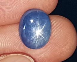 8.08cts Burmese Star Sapphire, Unheated, Untreated,