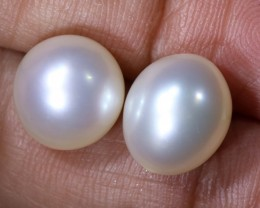 12.75CTS NATURAL PEARL PAIR PG-2358