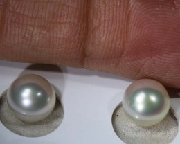 12.6CTS NATURAL PEARL PAIR PG-2359