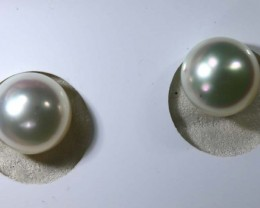 9.1CTS NATURAL PEARL PAIR PG-2360