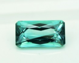 3.55 cts Natural Indicolite Tourmaline from Afghanistan