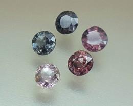 5.10 Crt Natural Spinel Parcels Faceted Gemstone (R 103)