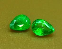0.40 Crt Natural Tsavorite Faceted Gemstone (R 103)