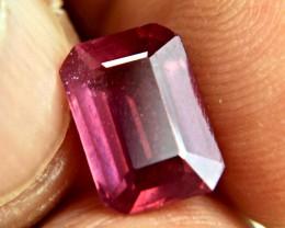 4.47 Carat Fiery Purplish Red Ruby - Gorgeous