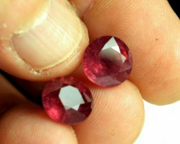 12.13 Tcw. Matched Rubies - Gorgeous
