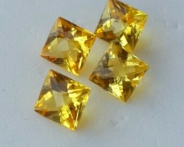 Fantabulous 1.25 Cts Natural Golden Yellow Beryl Fancy-Cut NR!!!