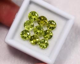 Lot 03 ~ 6.51Ct Natural VS Clarity Green Himalayan Peridot