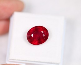 Lot 17 ~ 6.50Ct Natural Blood Red Madagascar Ruby