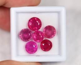 Lot 20 ~ 12.12Ct Natural VS2 Clarity Purplish Pink Ruby
