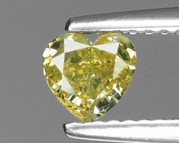 0.56 Cts Untreated Natural Yellow Diamond