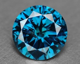 0.40 Cts Natural Blue Diamond