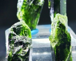179 CT Natural - Unheated Green Color Diopside Crystal