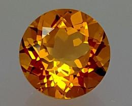 3.60 Crt Madeira Citrine OUTSTANDING  Gemstone   Jl151