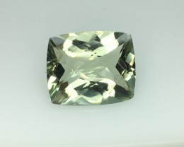 7.26 Ct Stunning Prasiolite  (Green Amethsyt )   Excellent Cut Kj46