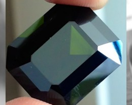 CERTIFIED 24.74cts of Gorgeous Green Tourmaline