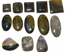 504.40 CT BEAUTIFUL MOSS AGATE WHOLESALE LOT (NATURAL+UNTREATED)