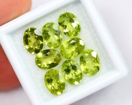 Lot 09 ~ 9.70Ct Natural VS Clarity Himalayan Green Peridot