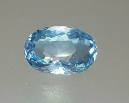 1.20 Crt Natural Aquamarine Faceted Gemstone (R 104)