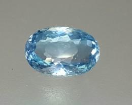 1.20 Crt Natural Aquamarine Faceted Gemstone (R 104)