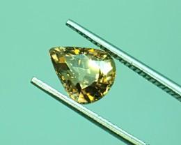 2.10 Crt Natural Zircon Faceted Gemstone (R 104)
