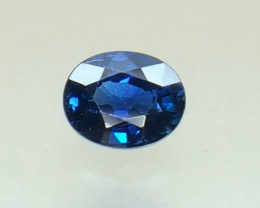 0.55 Crt Natural Sapphire Faceted Gemstone (R 104)
