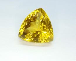 10.75 Crt Natural Lemon Quartz Faceted Gemstone (R 104)