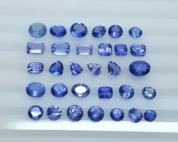 21.95 Crt Natural Tanzanite Parcels Good Quality Faceted Gemstone