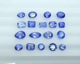 12.75 Crt Natural Tanzanite Parcels Good Quality Faceted Gemstone