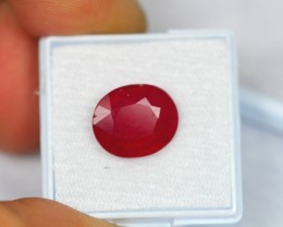 8.45ct Natural Madagascar Ruby Oval Cut Lot GW128