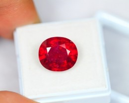 9.14ct Natural Ruby Oval Cut Lot P01