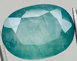 8.95Ct World Rare Grandidierite High Quality Gems for Collection IGCRGD04