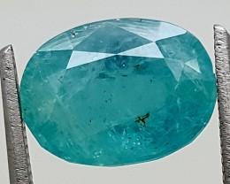 3.8Ct World Rare Grandidierite High Quality Gems for Collection IGCRGD10