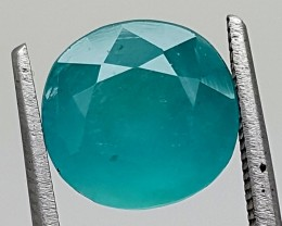 3.35Ct World Rare Grandidierite High Quality Gems for Collection IGCRGD11